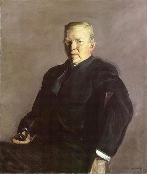 George Wesley Bellows - Portrait Of Professor Joseph Russell Taylor