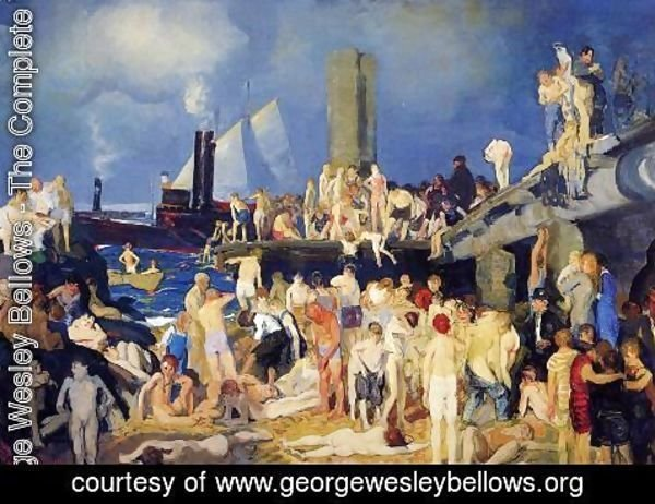 George Wesley Bellows - Riverfront  No  1