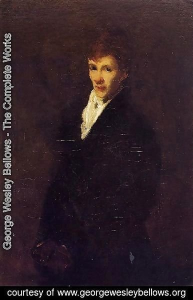 George Wesley Bellows - Robin Aka Portrait Of Clifton Webb