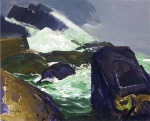 George Wesley Bellows - Rock Bound