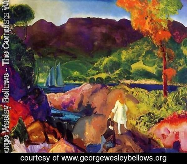 George Wesley Bellows - Romance Of Autumn