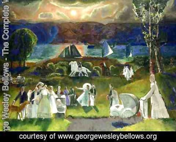 George Wesley Bellows - Summer Fantasy