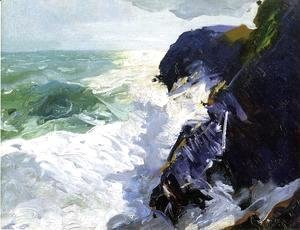 George Wesley Bellows - Sun And Spray