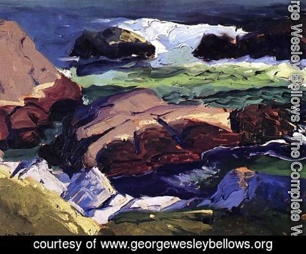 George Wesley Bellows - Sun Glow