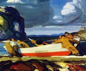 George Wesley Bellows - The Big Dory