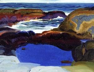 George Wesley Bellows - The Blue Pool