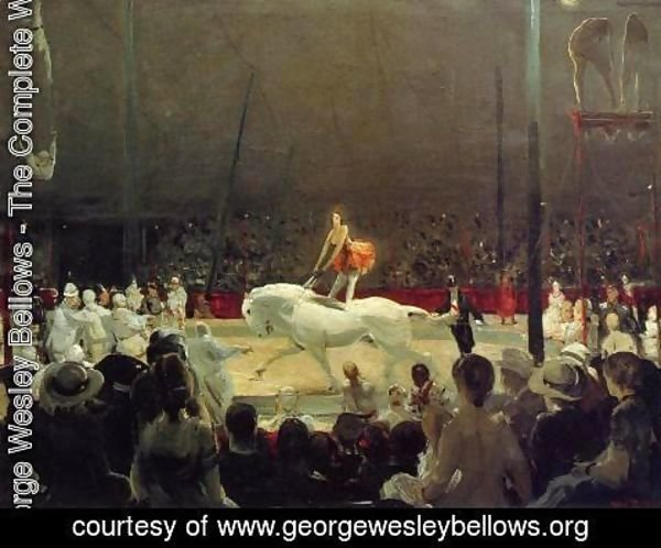 George Wesley Bellows - The Circus