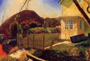 George Wesley Bellows - The Picket Fence