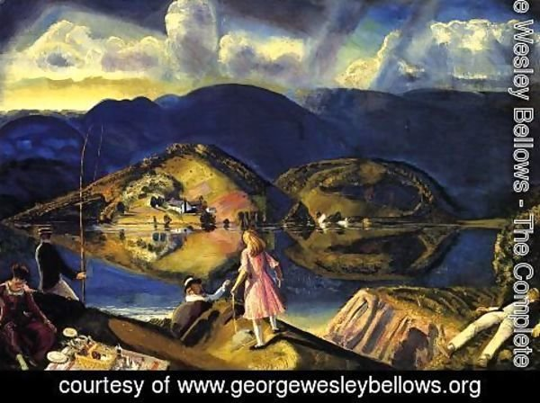 George Wesley Bellows - The Picnic