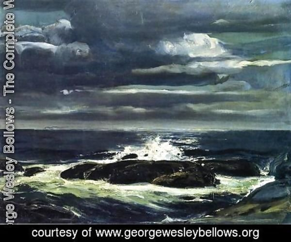 George Wesley Bellows - The Sea