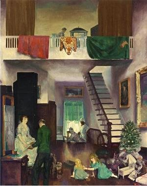 George Wesley Bellows - The Studio