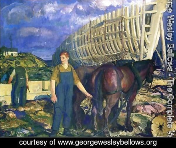 George Wesley Bellows - The Teamster2