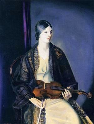 The Violinist Leila Kalman