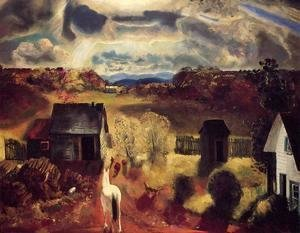 George Wesley Bellows - The White Horse