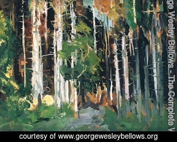 George Wesley Bellows - Through The Trees