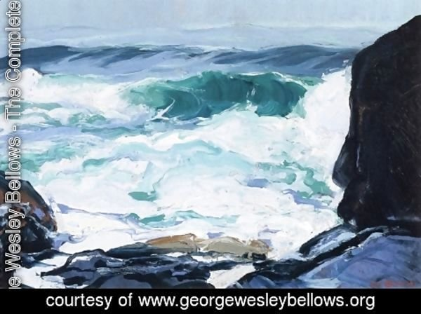 George Wesley Bellows - Tide Ledge