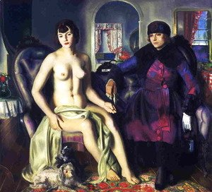 George Wesley Bellows - Two Women Aka Sacred And Profane Love