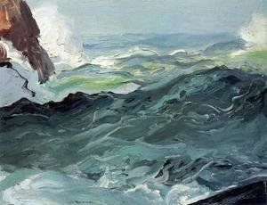 George Wesley Bellows - Wave