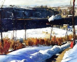 George Wesley Bellows - Winter Afternoon