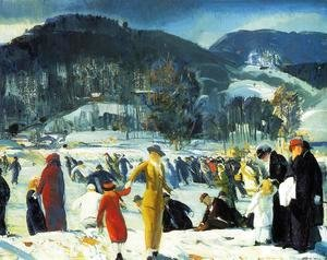 George Wesley Bellows - Love of Winter 1914